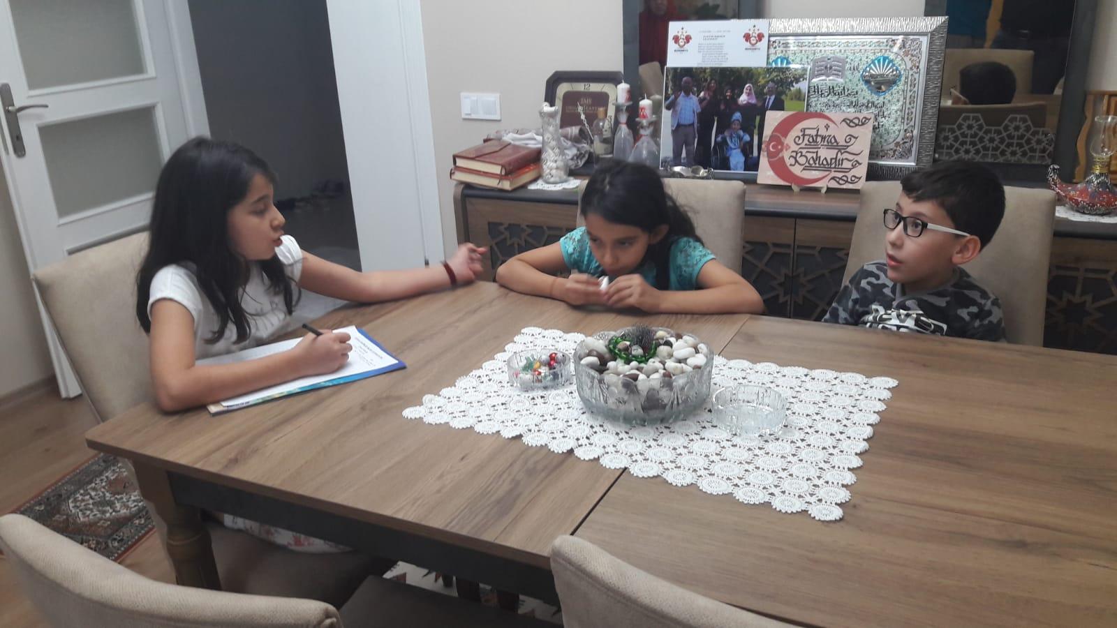 DSİF Çocuk Meclise Yeni üye Kayıt Çalışmalar